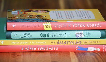 4 szuperjó könyv gyerekeknek, amivel szórakoztató a tanulás