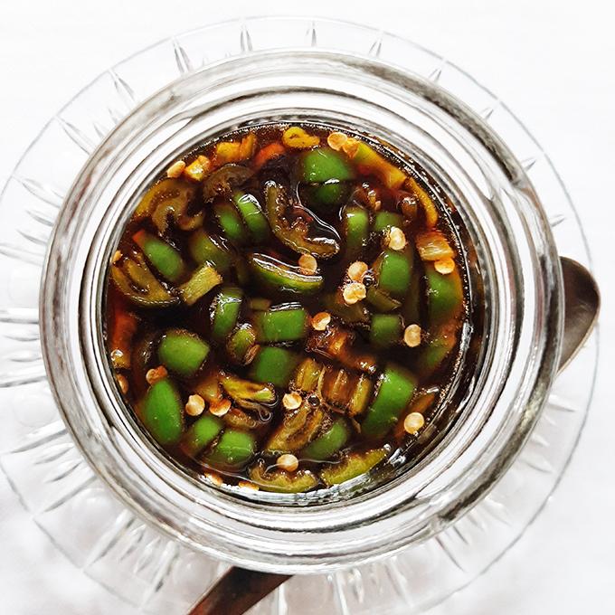 Édes jalapeno szósz (Sweet jalapeno sauce)/Fotó: Myreille
