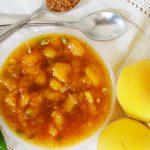 Őszibarack chutney jalapeno-val és kínai ötfűszerrel