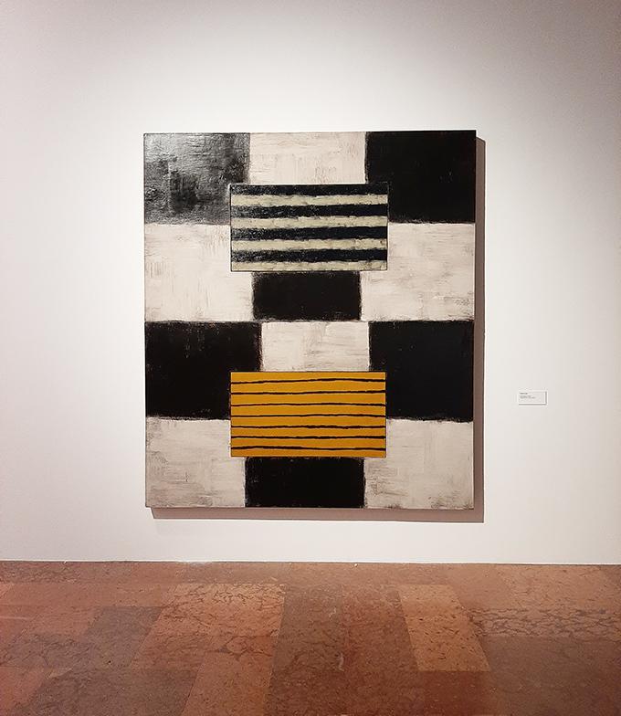 Sean Scully: Átutazó – Retrospektív kiállítás a Magyar Nemzeti Galériában/Fotó: Myreille