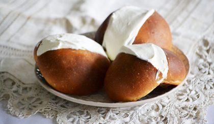 Maritozzi con la panna – római recept alapján
