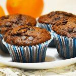 Dupla csokis-narancsos muffin ünnepi hétköznapokra