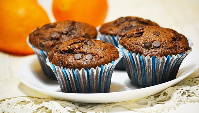 Dupla csokis-narancsos muffin ünnepi hétköznapokra/Fotó: Myreille