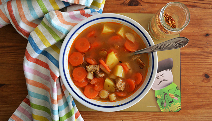 Family recipes: Fake Goulash Soup (Hamisgulyás)/Photo: Myreille