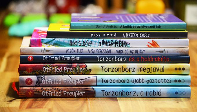 8 könyv a 8 éves fiamnak a karácsonyfa alá