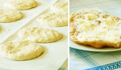 Family Recipes: Hungarian Fried Flatbread (Lángos)