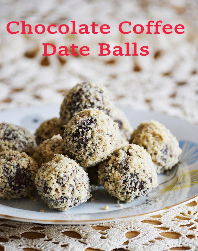 No-Bake Chocolate Coffee Date Balls/Photo: Myreille