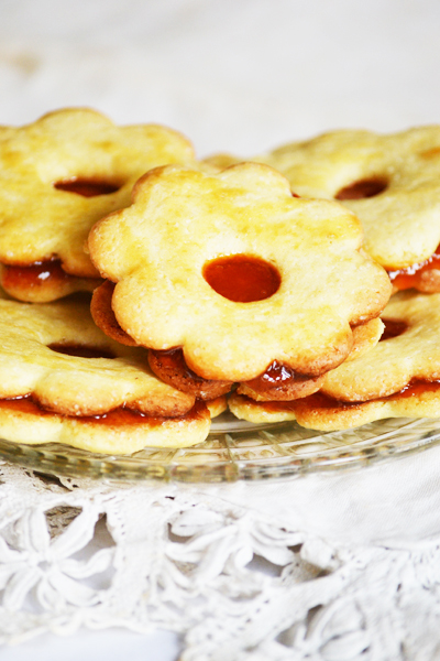 Family recipe: Hungarian Linzer Cookies