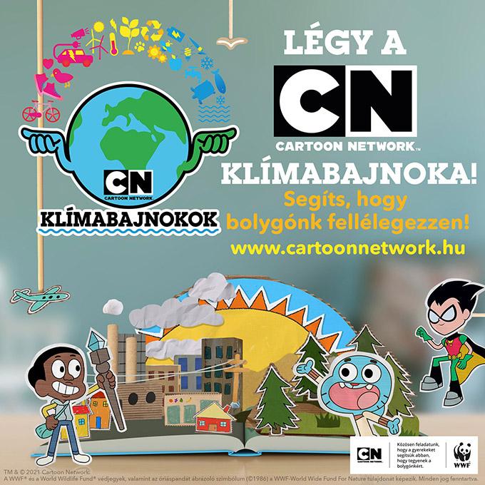 A Cartoon Network június 1-jével elindította vadonatúj klímavédelmi kampányát, amelynek célja, hogy felhívja a gyerekek figyelmét bolygónk megmentésére.