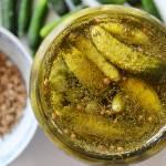 Uborka eltevése télire: vödrös uborka (üvegben)